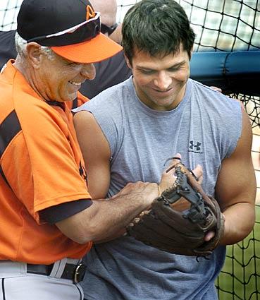Sam Perlozzo Brian Roberts Baltimore Orioles