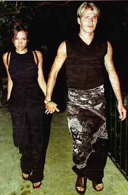 David Beckham Posh Spice Victoria Sarong