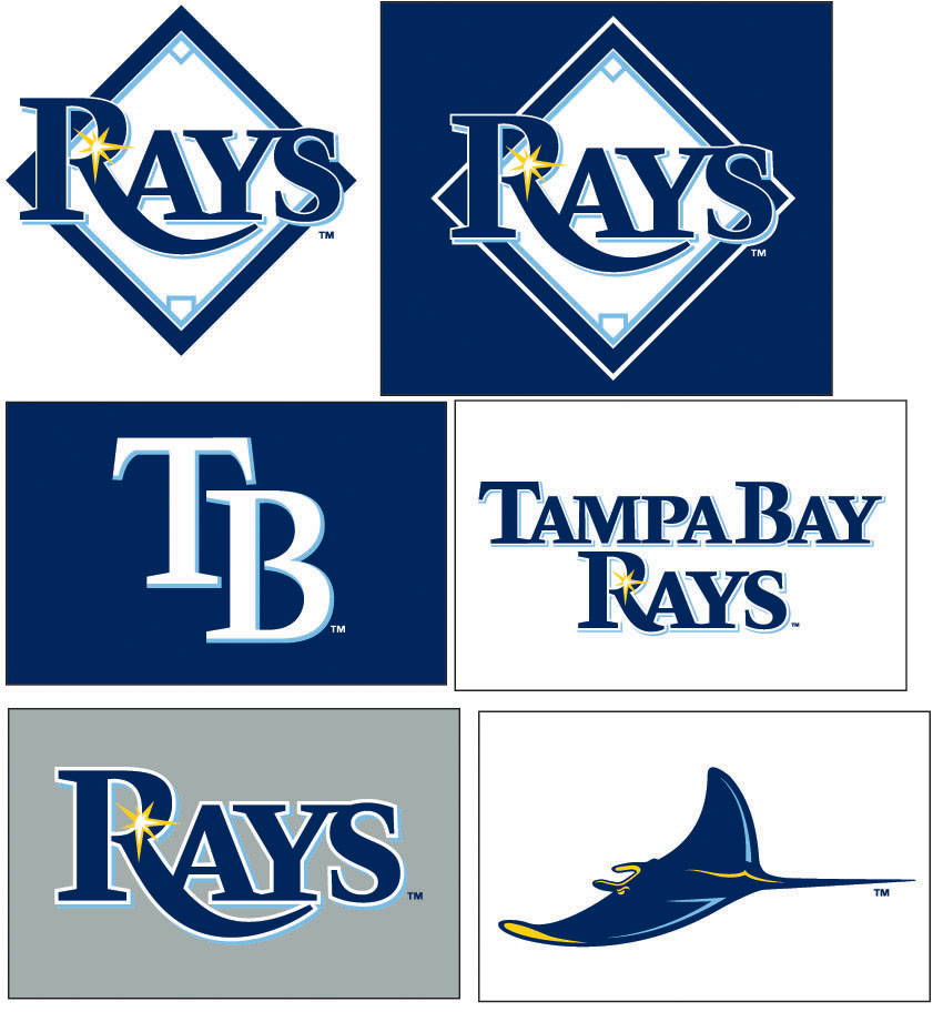 new Tampa Bay Rays logos