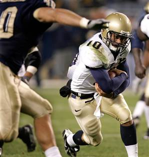 Navy football upsets the Pitt Panthers