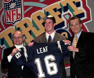NFL bust of the century Ryan Leaf