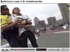 baltimore cop salvatore rivieri roughs up a skater