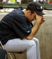 mike mussina is a sad man