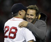 orioles first baseman kevin millar loves Boston