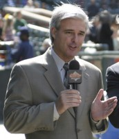 Baltimore Orioles broadcaster Jim Hunter