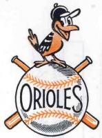 retro Orioles logo