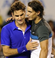 Federer vs. Nadal, AP Photo