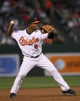 Orioles third baseman Melvin Mora