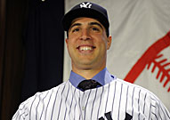 Yankees first baseman Mark Teixeira